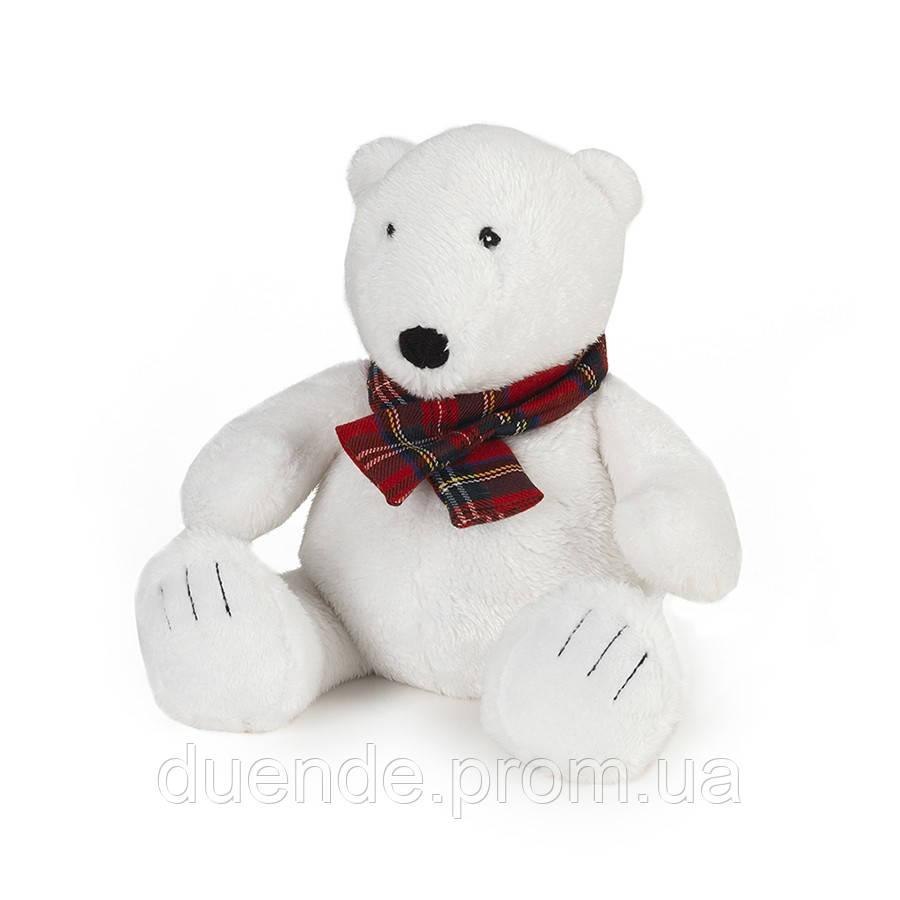 Мягкая игрушка-грелка Warmies Полярный мишка в шарфике /war - 683602