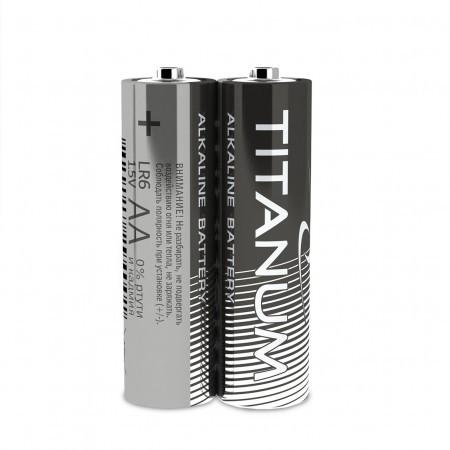 Батарейка щелочная Titanum LR6/AA 2pcs SHRINK
