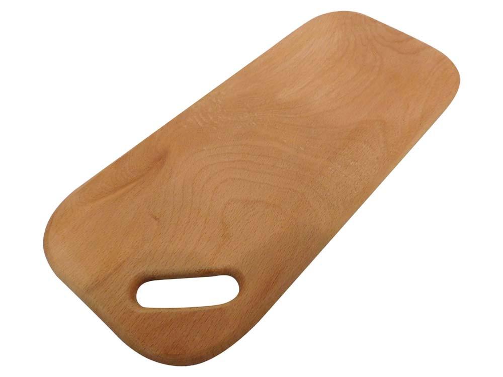 Доска разделочная деревянная прямоугольная (с прямоугольным отверстием)