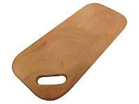 Доска разделочная деревянная прямоугольная (с прямоугольным отверстием), фото 1