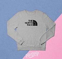 Реглан The North Face серый