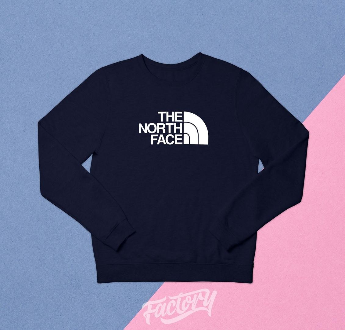Реглан The North Face темно-синий