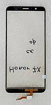 Сенсор (тачскрін) для Huawei Honor 7X (BND-L21) синій, фото 2