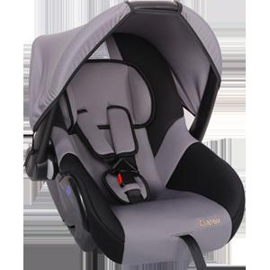 """Детское автомобильное кресло ZLATEK """"COLIBRI"""" серый, 0-1,5 ЛЕТ, до 13 КГ, группа 0/0+"""