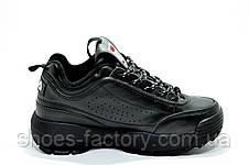 Женские кроссовки в стиле Fila Disruptor 2, Black, фото 3