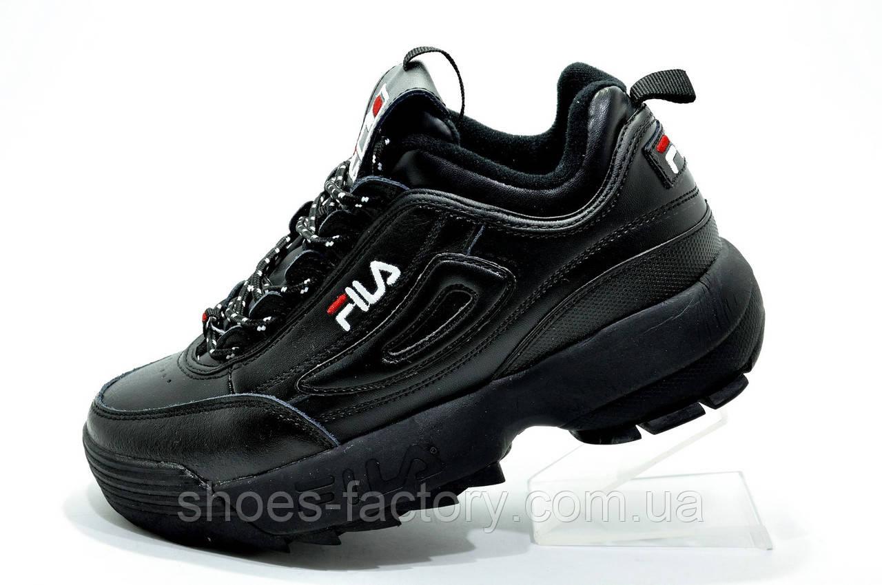 Женские кроссовки в стиле Fila Disruptor 2, Black