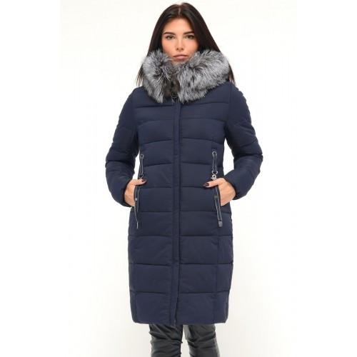 Зимняя куртка 656 Синий