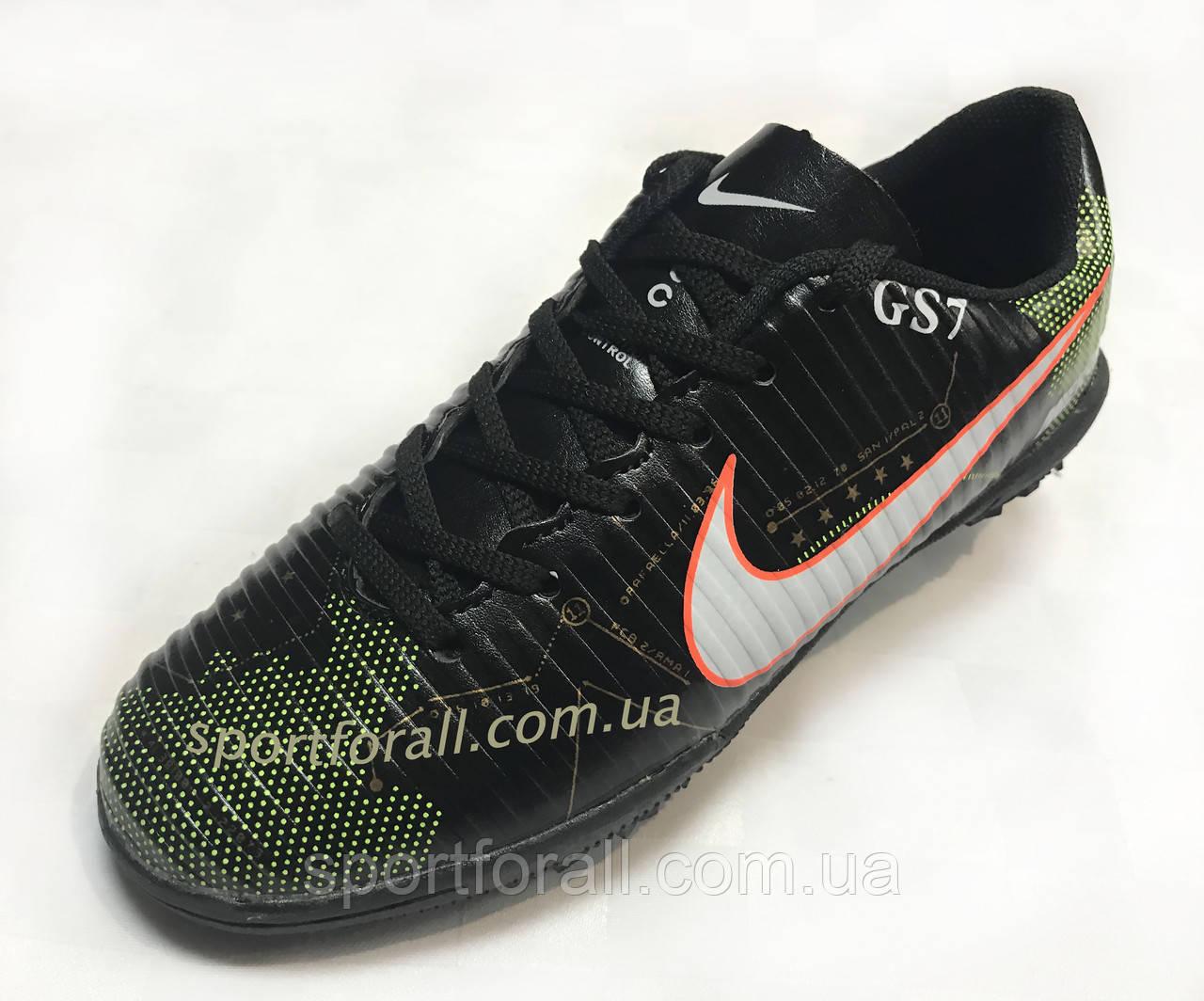 34ce22103fcd35 Сороконожки Nike MERCURIAL X GS7 Р 31-36 (чёрные) — в Категории ...