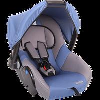 """Детское автомобильное кресло ZLATEK """"COLIBRI"""" синий, 0-1,5 ЛЕТ, до 13 КГ, группа 0/0+"""