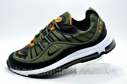 cdeff427 Мужские кроссовки в стиле Nike Air Max 98, Khaki\Хаки (Аир Макс)