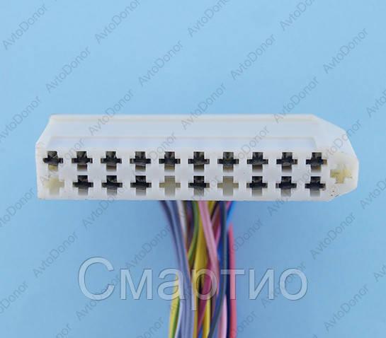 Разъем электрический 21-о контактный (64-11) б/у 8-373-01
