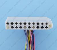 Разъем электрический 21-о контактный (64-11) б/у 8-373-01, фото 1