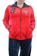 Велюровый женский спортивный костюм K130-5