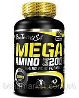 Аминокислоты BioTechUSA MEGA AMINO 3200, 100 tabl