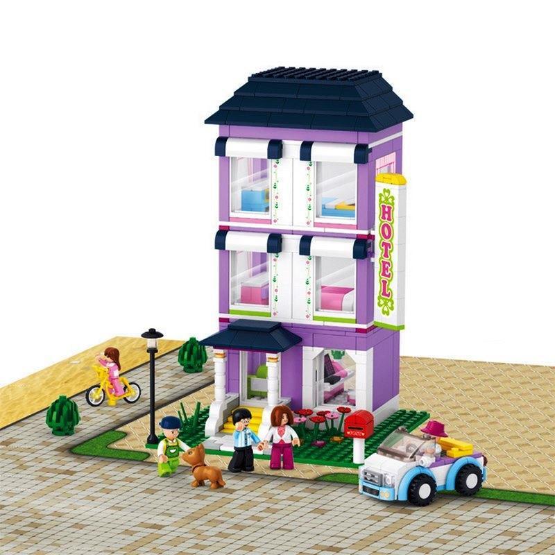 Конструктор Sluban 0531 Розовая мечта - Отель 541 деталей