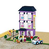 Конструктор Sluban 0531 Розовая мечта - Отель 541 деталей, фото 1