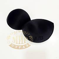 Поролоновые чашечки для танцевального платья, цвет Black, 1 пара