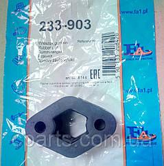 Резинка резонатора и глушителя Dacia Solenza (Fischer 233-903)(среднее качество)
