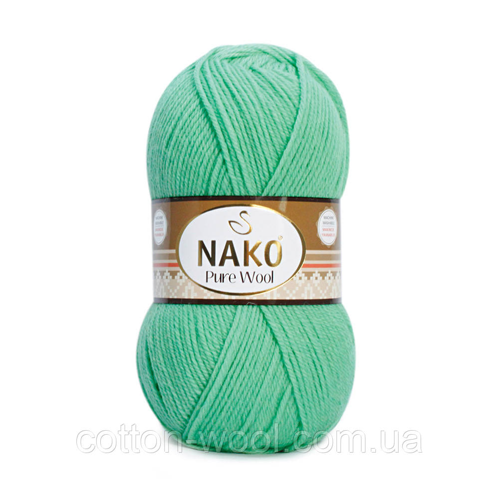 Nako Pure Wool (Нако Пур вул) 100%шерсть 10001