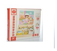 Деревянная игра на магнитах детская игровая комната