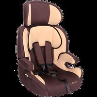 """Детское автомобильное кресло ZLATEK """"Fregat"""" коричневый, 1-12 ЛЕТ, 9-36 КГ, группа 1/2/3"""