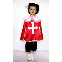 Карнавальний костюм Мушкетер №2 Червоний