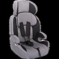 """Детское автомобильное кресло ZLATEK """"GALLEON"""" серый, 0-4 ЛЕТ, до 18 КГ, группа 0+/1"""