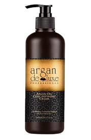 Восстанавливающий крем для завитков с аргановым масломDe Luxe Professional Argan Oil Curl Defining Cream