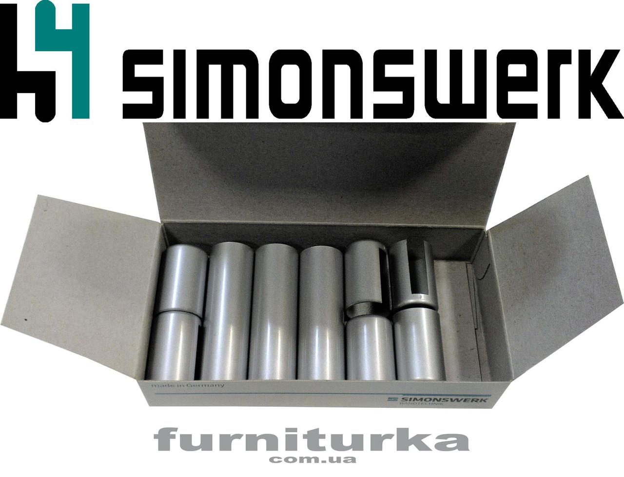 Декоративная накладка №12 на петлю SIMONSWERK серия BAKA 4000 (хром матовый)