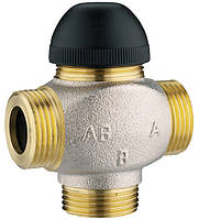 """HERZ 7762 H клапан термостатический трехходовой для смешивания или распределения DN10 (1/2""""), Kvs 0"""