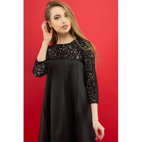 e4451ea63291 Платье Эмма Черный