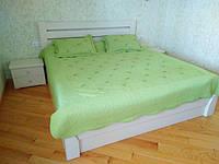 Ліжко Венеція в комплекті з приліжковими тумбочками Кантрі
