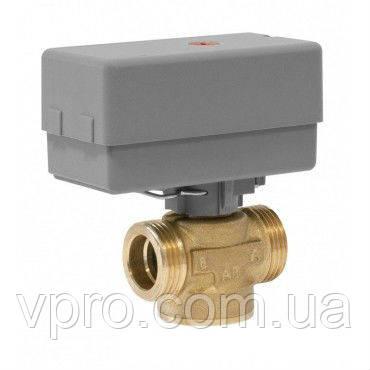 "Afriso AZV 643 G1"" DN25 3-ходовой переключающий клапан c приводом"