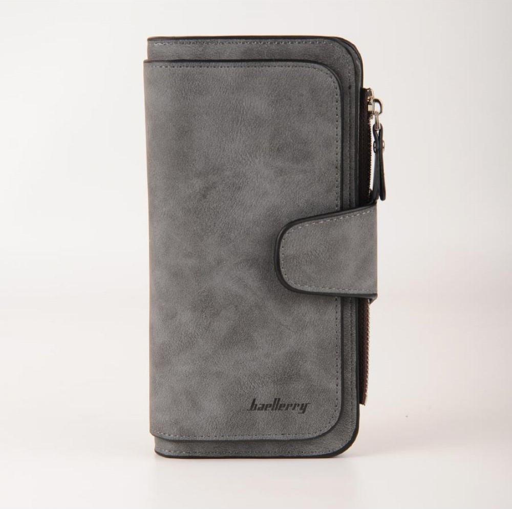 Женское портмоне Baellerry Forever Темно-серый (01vfca)