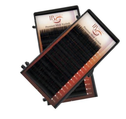 Ресницы i-Beauty MIX 0.12 D — 8-14 мм.