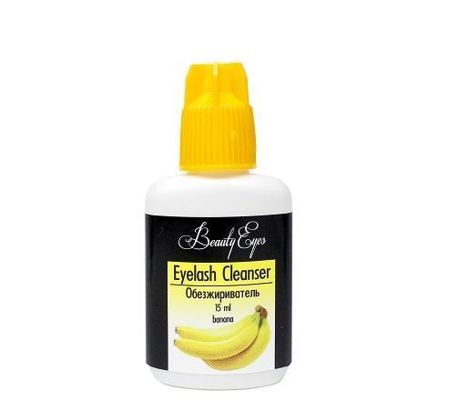 Обезжириватель Beauty Eyes для ресниц с запахом банан 15 мл