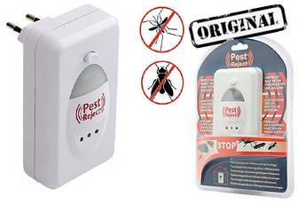 Ультразвуковой отпугиватель PEST REJECT (крыс, мышей, грызунов, насекомых, комаров, тараканов)