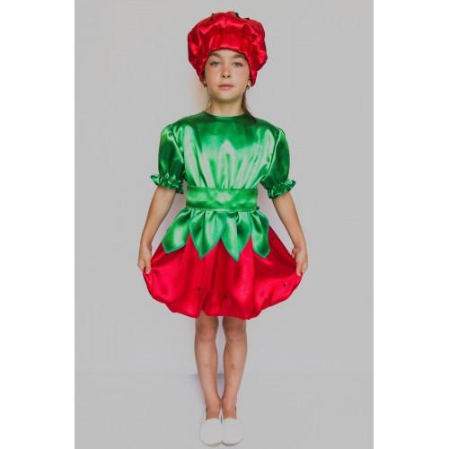 Карнавальный костюм Клубника №2