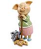 Статуэтка Свинка Хорошая зайка ED-453