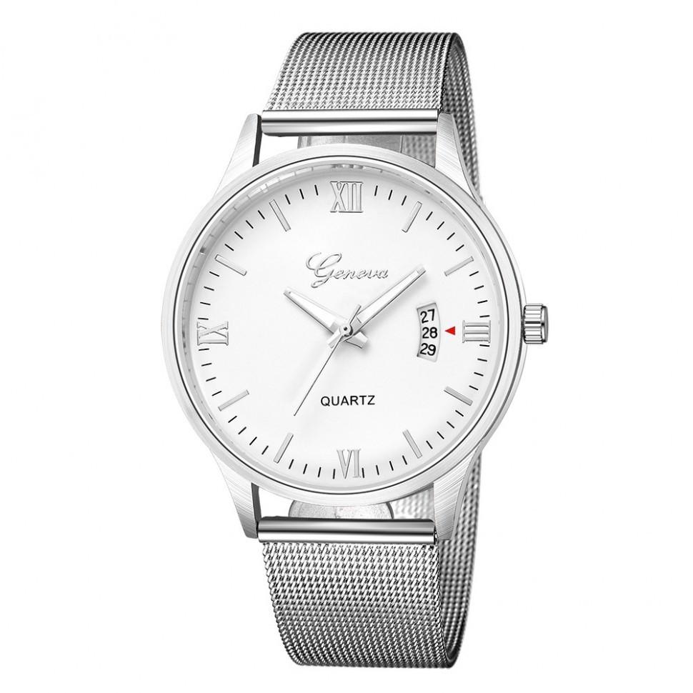 Купить наручные Мужские часы Geneva с датой 7449598-2 (40154) оптом ... db52fa88a2e81