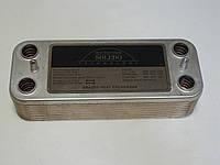 Теплообменник ГВС вторичный пластинчатый 16 пл. Beretta Super Exclusive 24 kw. Art. 6319690
