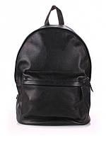Черный рюкзак из натуральной кожи 6520-11