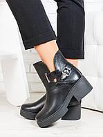 Ботинки кожаные Diezzzl 6707-28, фото 1
