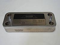 Теплообменник ГВС вторичный пластинчатый 12 пл. Nobel Plus