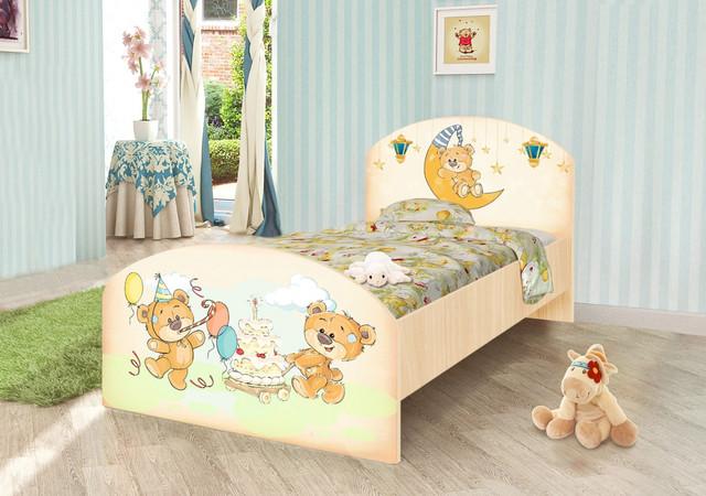 """Детская двухуровневая кровать """"Бабочки"""" Вальтер , фото 1"""