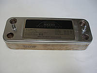 Теплообменник ГВС вторичный пластинчатый Ariston Microgenus 14 пл. Art. 571646