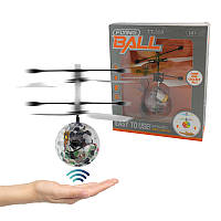 Летающий светящийся мяч Sensor Flying Ball