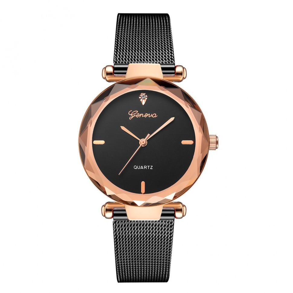 Купить наручные Женские часы на браслете Geneva 7449454-4 (40019 ... ee9e58a83c116