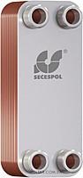SECESPOL LA 14-50 пластинчатый паяный теплообменник