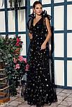 Эффектное вечернее платье макси, фото 2